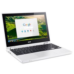 Chromebook Acer CB5-132T-C9F1, Intel Celeron N3150, Tela, 11,6``, Memória 4GB, 32eMMC, Chrome OS - Branco