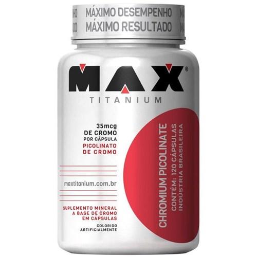Chromium Picolinate 120 Caps Max Titanium