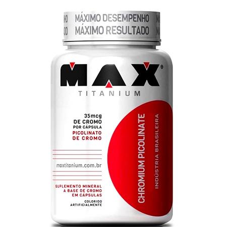 Chromium Picolinate (120 Cápsulas) - Max Titanium