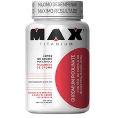 Chromium Picolinate 60 Cáps - Max Titanium