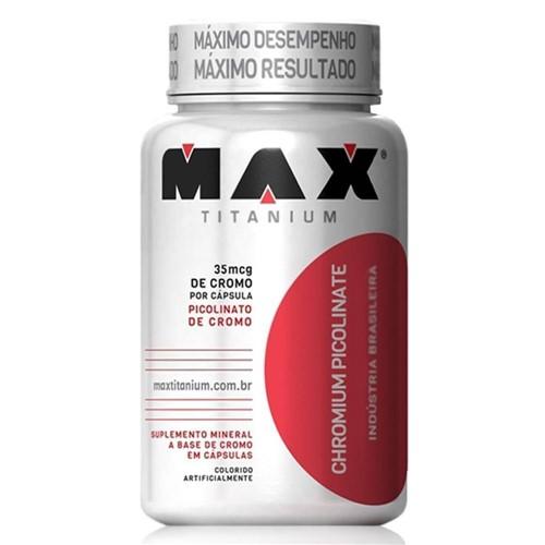 Chromium Picolinate - 60 Cápsulas - Max Titanium