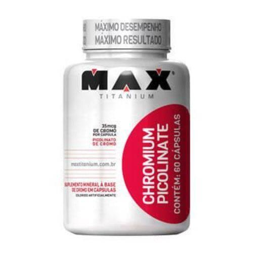 Chromium Picolinate 60 Capsulas Max Titanium