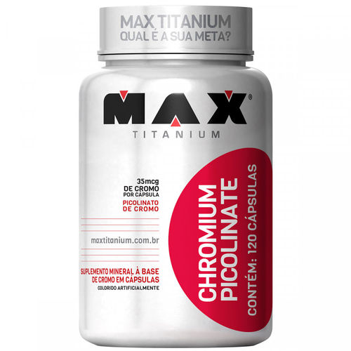 Chromium Picolinate 60 Cápsulas Max Titanium