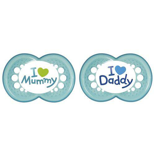 Tudo sobre 'Chupeta Mom & Dad Mam (6m+)'