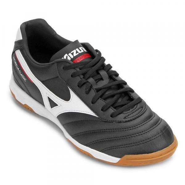 Chuteira Futsal Mizuno Morelia Classic Masculina 4140679-1019