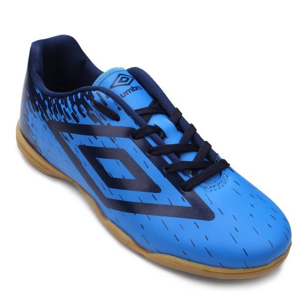 Chuteira Futsal Umbro Acid - Azul e Marinho