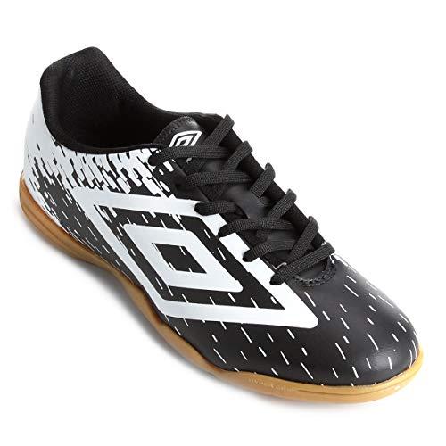 Chuteira Futsal Umbro Acid - Preto e Branco