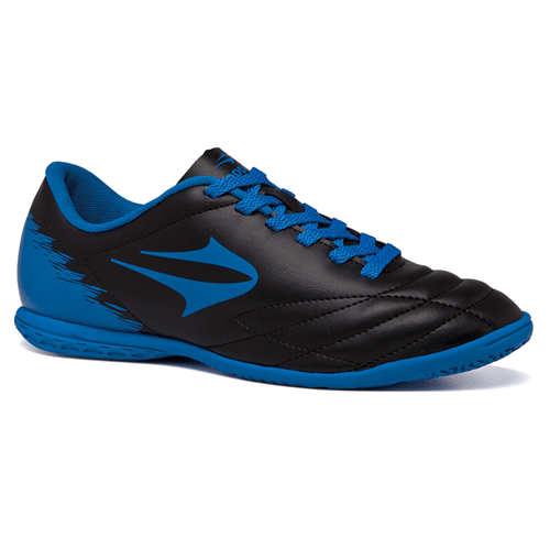 Tudo sobre 'Chuteira Topper Futsal Slick II Preto/Azul - 38'