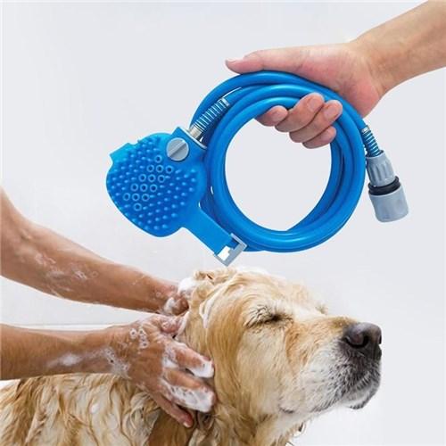 Chuveiro e Massageador de Banho Pet