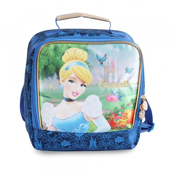 Cinderela Lancheira Soft - Dermiwil - Princesas Disney