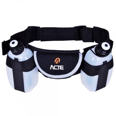 Cinturão de Hidratação Acte Sports com 2 Garrafas C8
