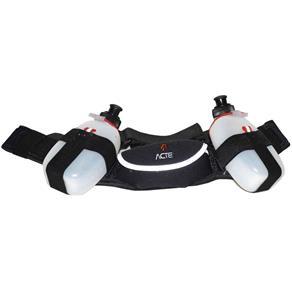 Cinturão de Hidratação Ajustável ACTE C8 em Neoprene com 2 Garrafas 170 Ml