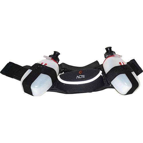 Cinturão de Hidratação C/ Duas Garrafas - Acte Sports