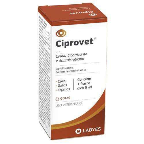 Tudo sobre 'Ciprovet Colírio Labyes 5ml'