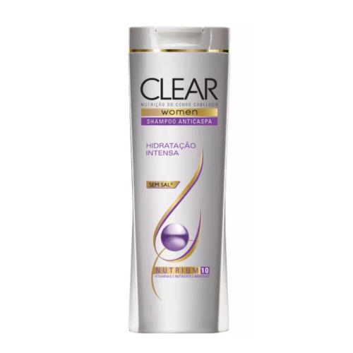 Clear Anticaspa Hidratação Intensa Shampoo 200ml