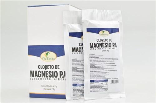 Cloreto de Magnésio Display com 10 Sachês de 33G