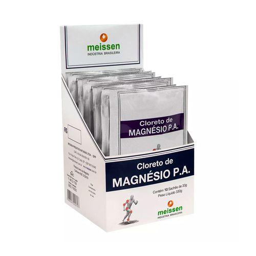 Cloreto de Magnésio P.A - Meissen - 10 Sachês de 33g