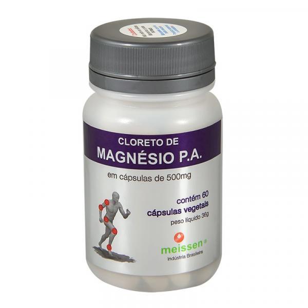 Tudo sobre 'Cloreto de Magnésio PA 60 Cápsulas 500Mg- Meissen'