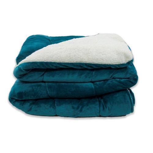 Tudo sobre 'Coberdrom Flannel Sherpa Tiffany'