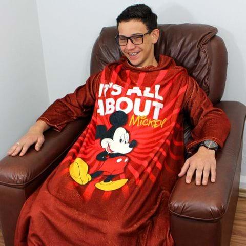 Tudo sobre 'Cobertor com Mangas Mickey'