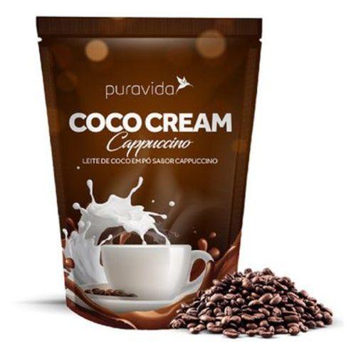Coco Cream Cappuccino - Leite de Coco Sabor Cappuccino
