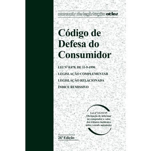 Tudo sobre 'Codigo de Defesa do Consumidor'