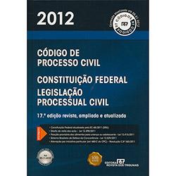 Código de Processo Civil - 2012