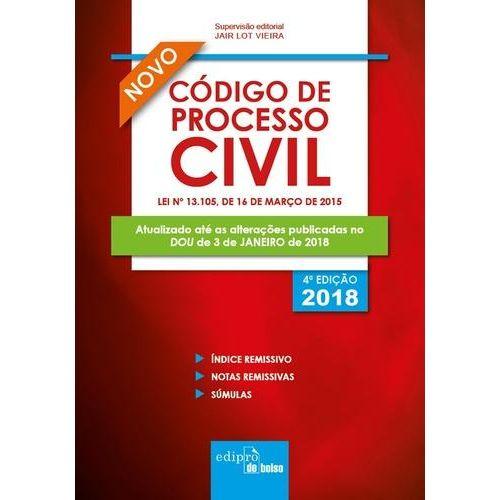 Código de Processo Civil 2018 - Mini