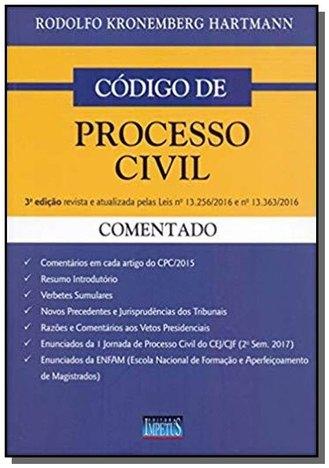 Codigo de Processo Civil - 03Ed/18