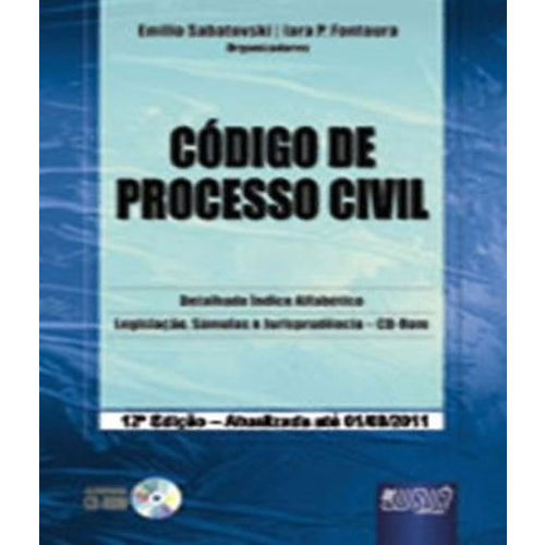 Codigo de Processo Civil - 12 Ed