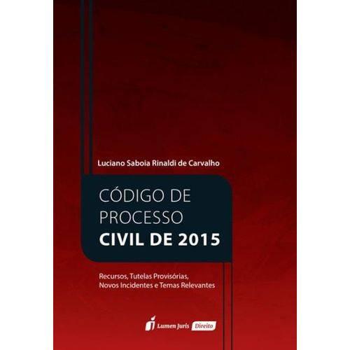 Código de Processo Civil de 2015 – 2017