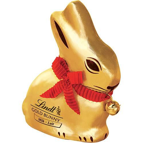 Coelho de Chocolate ao Leite Gold Bunny 100g - Lindt