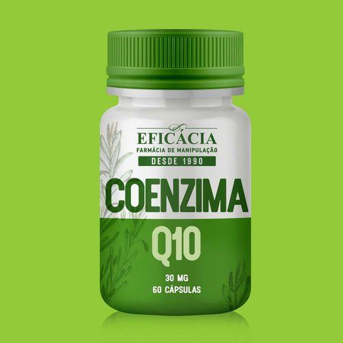 Coenzima Q10 30mg - 60 Cáps