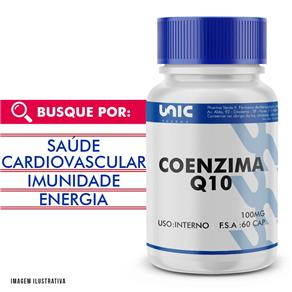Coenzima Q10 100mg 60 Cáps