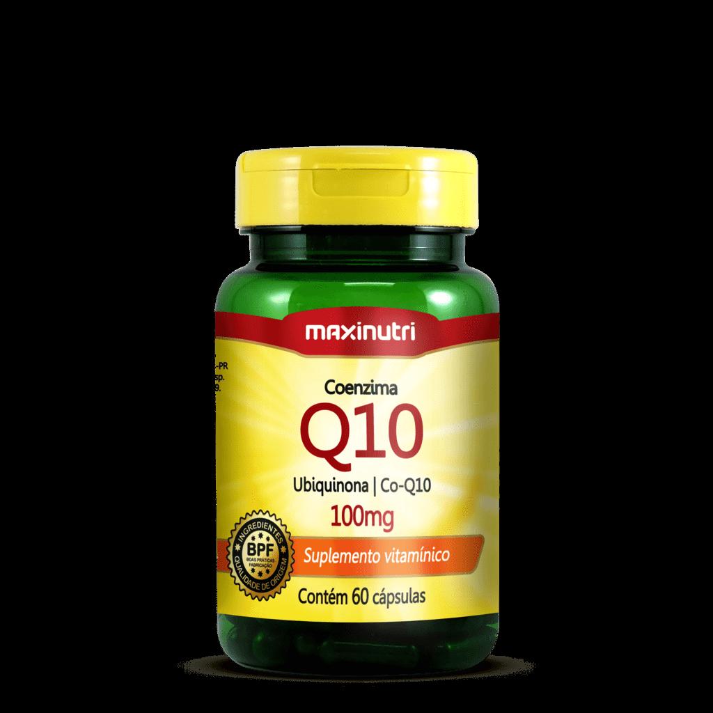 Coenzima Q10 100Mg - 60 Caps