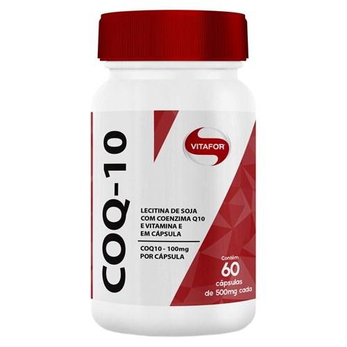 Coenzima Q10 100mg - 60 Cápsulas - Vitafor