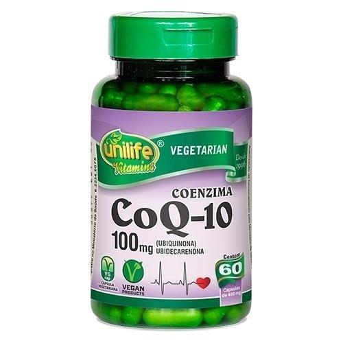 Coenzima Q10 400Mg 60 Caps - Unilife