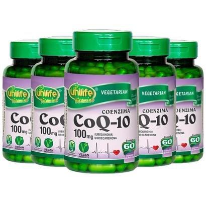 Coenzima Q10 - 5x 60 Cápsulas - Unilife