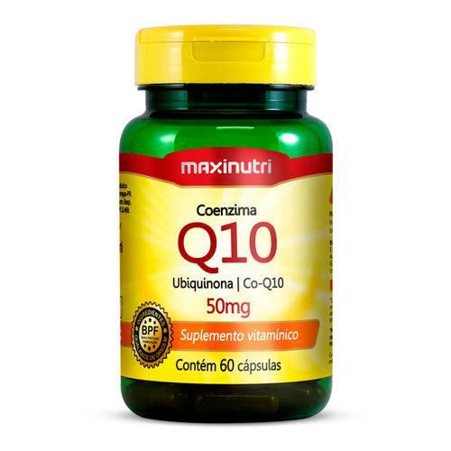 Coenzima Q10 - 60 Cápsulas - Maxinutri