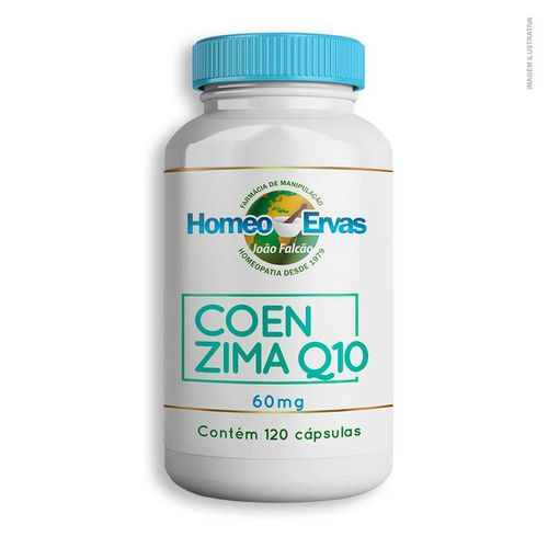 Coenzima Q10 60Mg 120 Cápsulas