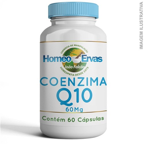 Coenzima Q10 60Mg - 60 Cápsulas