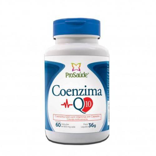 Tudo sobre 'Coenzima Q10 com Vitaminas 60 Caps 600mg ProSaúde'