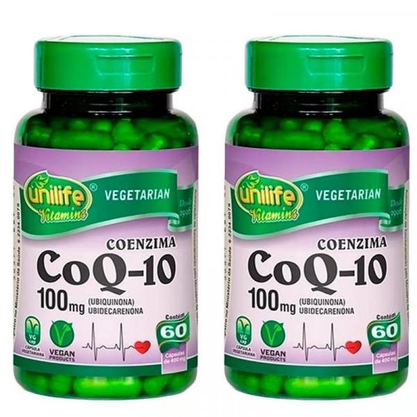 Coenzima Q10 - 2x 60 Cápsulas - Unilife
