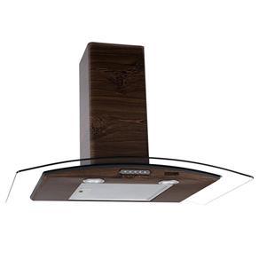 Coifa de Parede - 80cm Vidro Curvo Slim - 110V