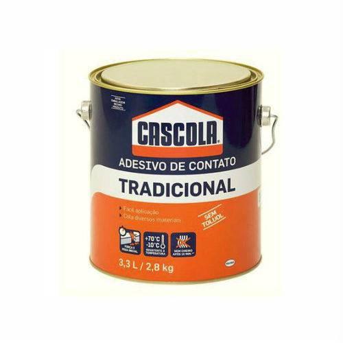 Cola Adesivo de Contato Sem Toluol 2,8kg Galão - Cascola