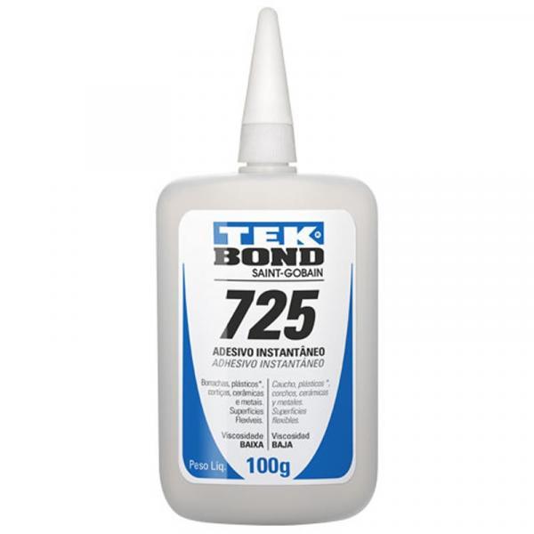 Cola Adesivo Instantâneo Multiuso Tekbond 725 100g