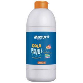 Cola Branca Escolar - 1Kg - Mercur