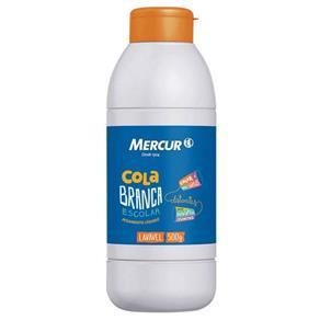 Cola Branca Escolar - 500 G - Mercur