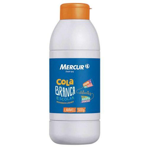 Cola Branca Escolar - 500g - Mercur