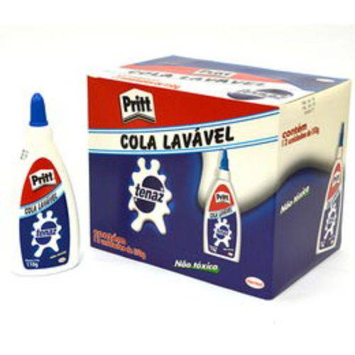 Cola Branca Lavável 110g Tenaz Cx 12 Unidades Pritt